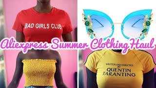 My First Ever Aliexpress Try-On Haul | Aliexpress Summer Clothing Haul