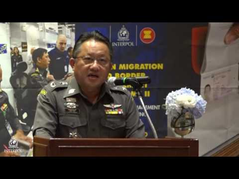 Police Major General Pornchai Kuntee, Deputy Commissioner of Immigration Bureau Thailand
