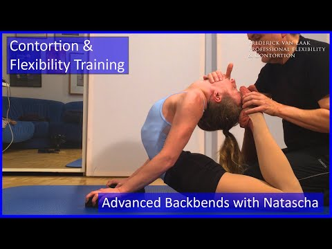 Contortion Training by Flexyart 126: Advanced Backbend   - Also for Yoga, Poledance, Ballet, Dance