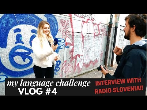VLOG 4  — FIRST IMPRESSIONS OF SLOVENIA POLYGLOT CONFERENCE 2018