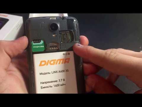 Обзор на смартфон DIGMA