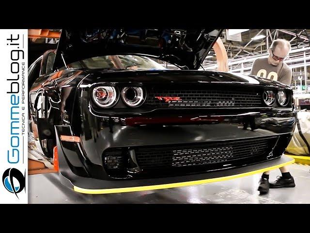 2018 Dodge Challenger SRT Demon - PRODUCTION - CAR FACTORY
