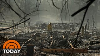 Trump Visits California As Wildfires Death Toll Rises | TODAY
