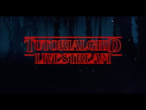 Creating the Upside Down from Stranger Things After Effects (Livestream)