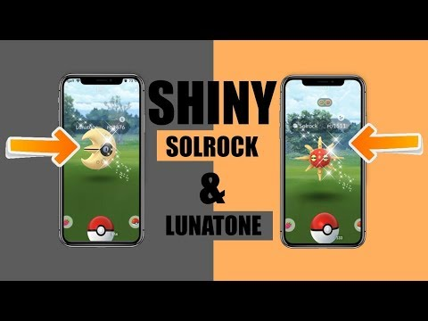 Shiny Solrock And Shiny Lunatone Coordinates Shinies Released In