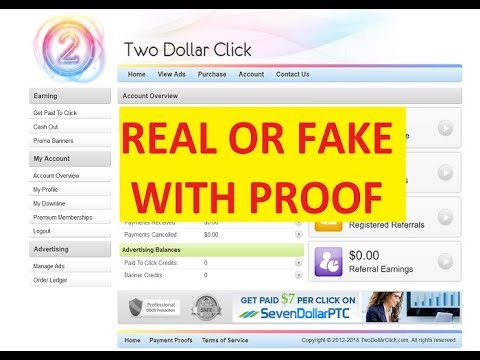 Two Dollar Click Live Payment Proof In Hindi | Two Dollar Click Real Or Fake Details In Hindi/urdu
