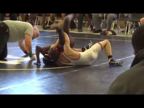 Olympic High School 120 Wrestling Retro Ranking Duals at North Gaston High School