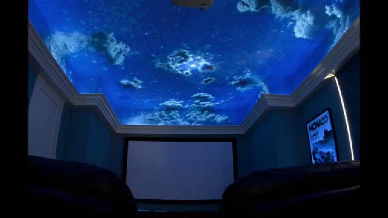 Home Theater Day To Night Ceiling 2 Youtube