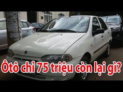Ôtô CHỈ 75 TRIỆU trông như thế nào? - Fiat Siena 2003 I Kiếm 4 bánh