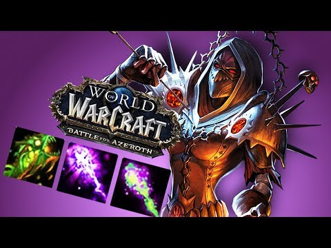 BFA WARLOCK First Impression - World Of Warcraft: Battle For Azeroth (BETA)