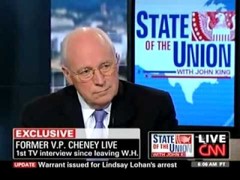 Cheney: Dont blame Bush team for economic crisis