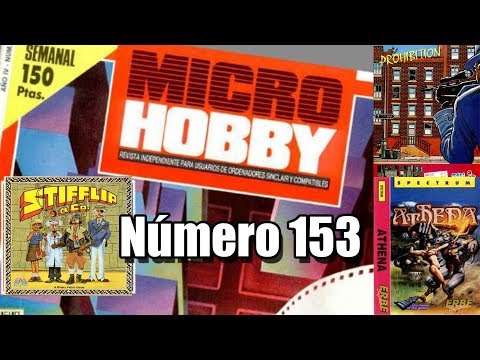 MICROHOBBY 153: STIFFLIP AND CO; PROHIBITION; ATHENA