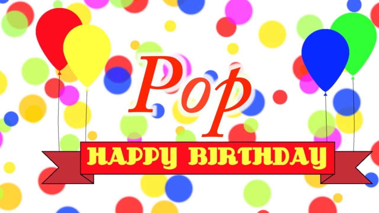 happy birthday pop Happy Birthday Pop Song   YouTube happy birthday pop