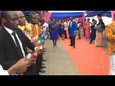 Champagne  Popping _ Eddie and Jossie's wedding