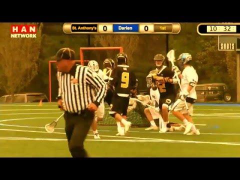 HAN Boys Lacrosse: St. Anthony's (NY) at Darien 5.5.16