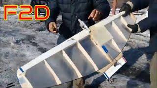 Кордовая модель для воздушного боя  F2D