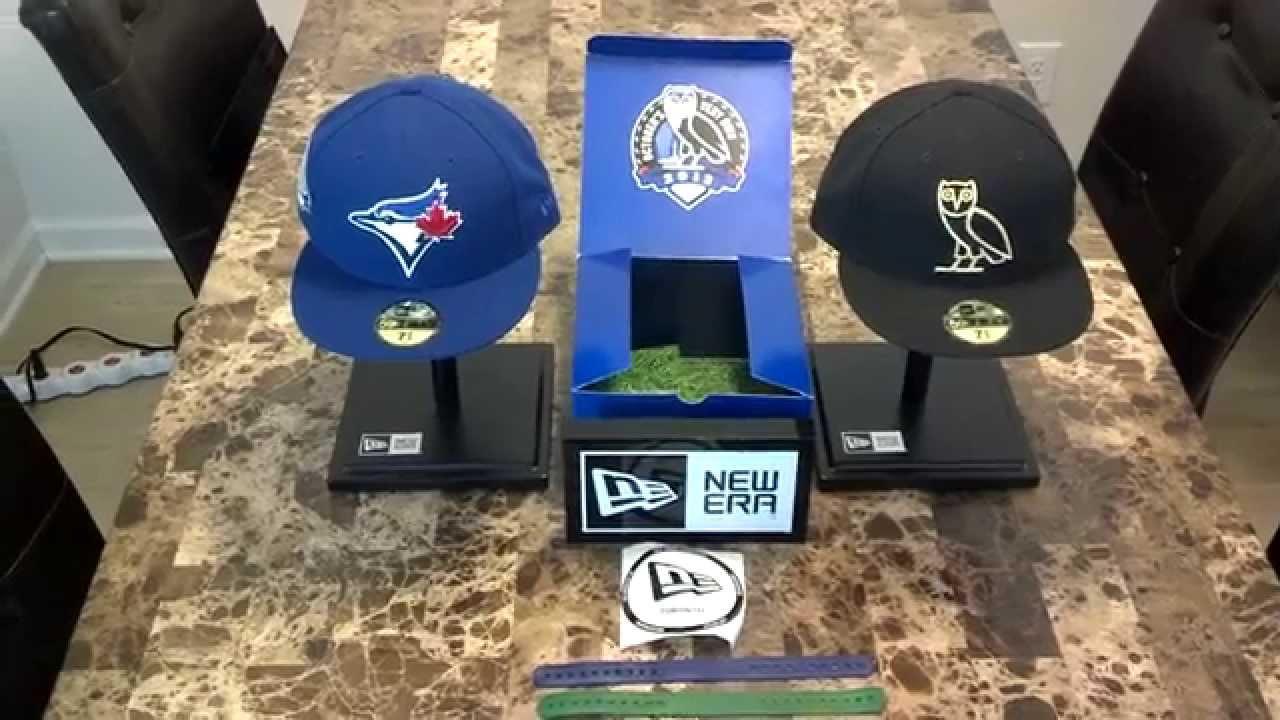 739db8c5d74 New Era Drake OVO Toronto Blue Jays Caps - YouTube