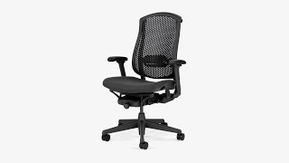 How To Adjust The Celle Office Chair From Herman Miller