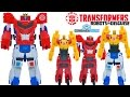 Transformers Combiner Force Wave 1 One Step Changers Beeside Primestrong Combine Optimus Bumblebee video