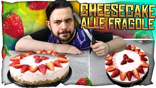 "in Cucina con Ciccio ""New Home"" : la Cheesecake alle Fragole"