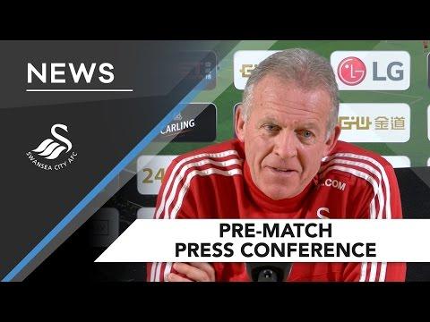 Swans TV - Alan Curtis Pre-Match Press Conference