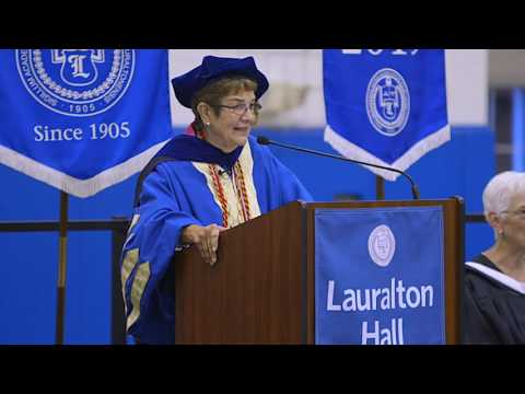 Lauralton Hall Matriculation Ceremony welcoming the Class of 2020