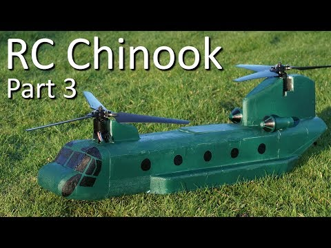RC Chinook Bicopter - Part 3