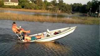 redneck water wheelie gone wrong