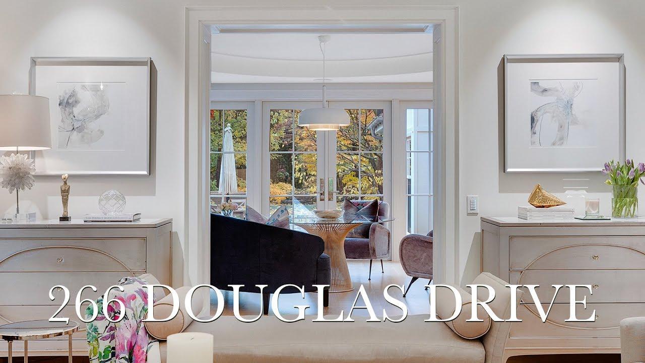 8 950 000 Sophisticated Rosedale Living 266 Douglas Drive Toronto Youtube