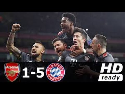 Download Arsenal vs Bayern Munich 1-5 - All Goals & Extended Highlights - Champions League 07/03/2017