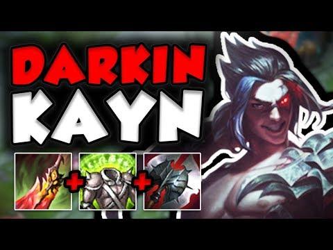 JUST HOW OP IS THIS NEW DARKIN KAYN IN TOP LANE? NEW KAYN TOP GAMEPLAY SEASON 7! - League of Legends