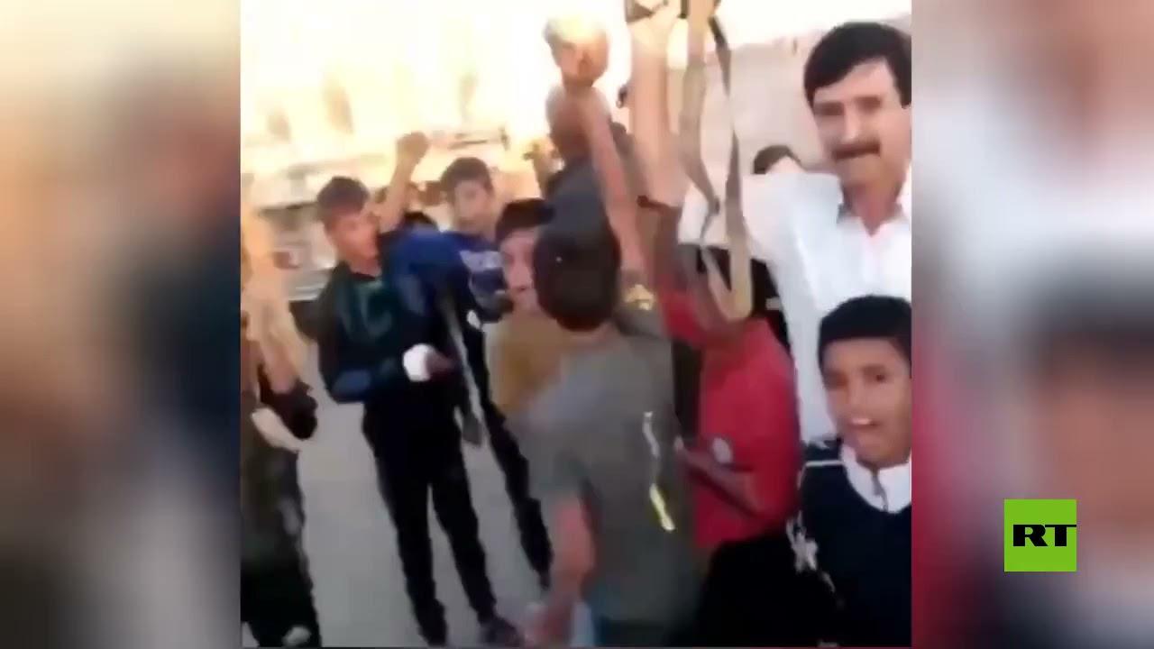للمرة الثانية خلال أسبوع.. أهالي قرية حامو بريف القامشلي يعترضون رتلا أمريكيا