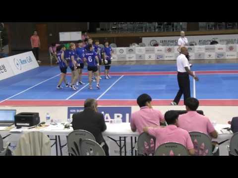 4th asian women kabaddi championship/ Korea vs Turkmenistan (Group B)