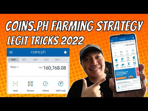 Coins.ph Farming Php 1K to Php 160K (Road to Php 1 Million!)