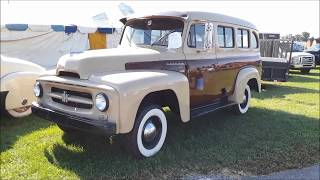 A Walk About A 1954 International Travelall At the 2018 Carlisle Travelall