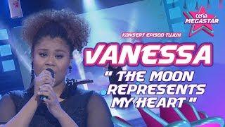 Standing ovation untuk Vanessa dengan The Moon Represents My Heart  Teresa Teng  Ceria Megastar