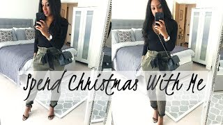 #VLOGMAS   SPEND CHRISTMAS EVE AND CHRISTMAS DAY WITH ME   Style With Substance