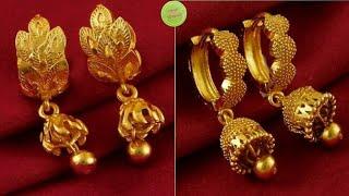 Beautiful designs of Hoops Jhumka Earrings idea's|| Party wear Hoops Earrings designs /NewTrends
