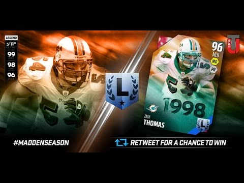 Madden 16 Zach Thomas Review