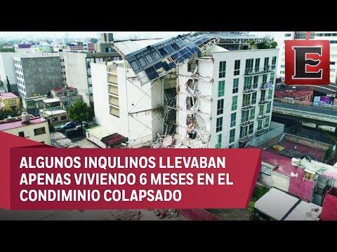 Constructora se deslinda de derrumbe en su edificio de la colonia Portales