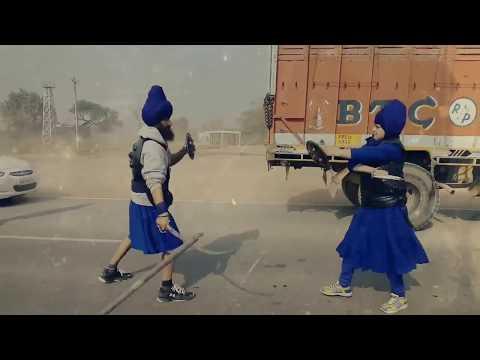 Panth Kalgiyawale Da (Singh And Kaur Dhal Kirpan) (  Fouj 96 Crori Gatka Dal )