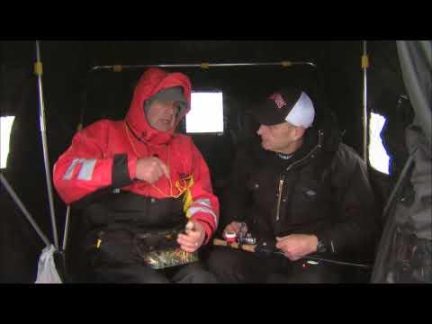 Canadian Sportfishing Ice Fishing For Jumbo Perch, Lake Simcoe ON  Csf 24 04 03
