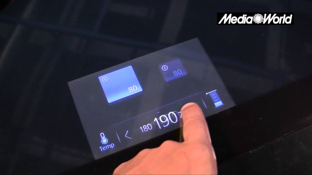 IFA 2012 - L\'innovativo piano cottura a induzione di Panasonic - YouTube