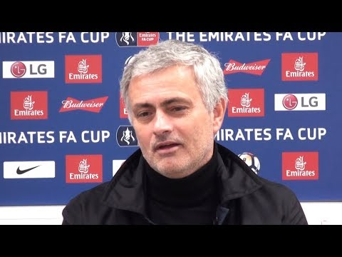 Huddersfield 0-2 Manchester United - Jose Mourinho Full Post Match Press Conference - FA Cup