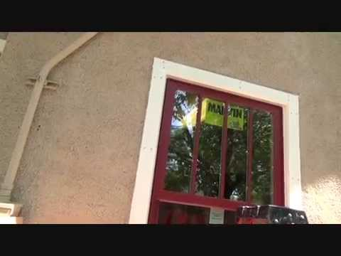 How to install caulking around an exterior window trim - Wood filler or caulk for exterior trim ...