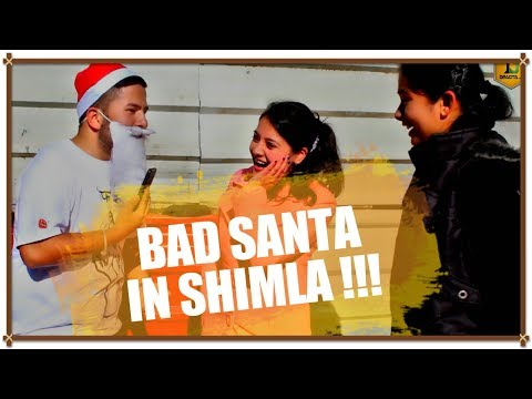 BAD SANTA IN SHIMLA 🔥😱🔥 || PUBLIC REACTION #9 || #DRAGTA_JI