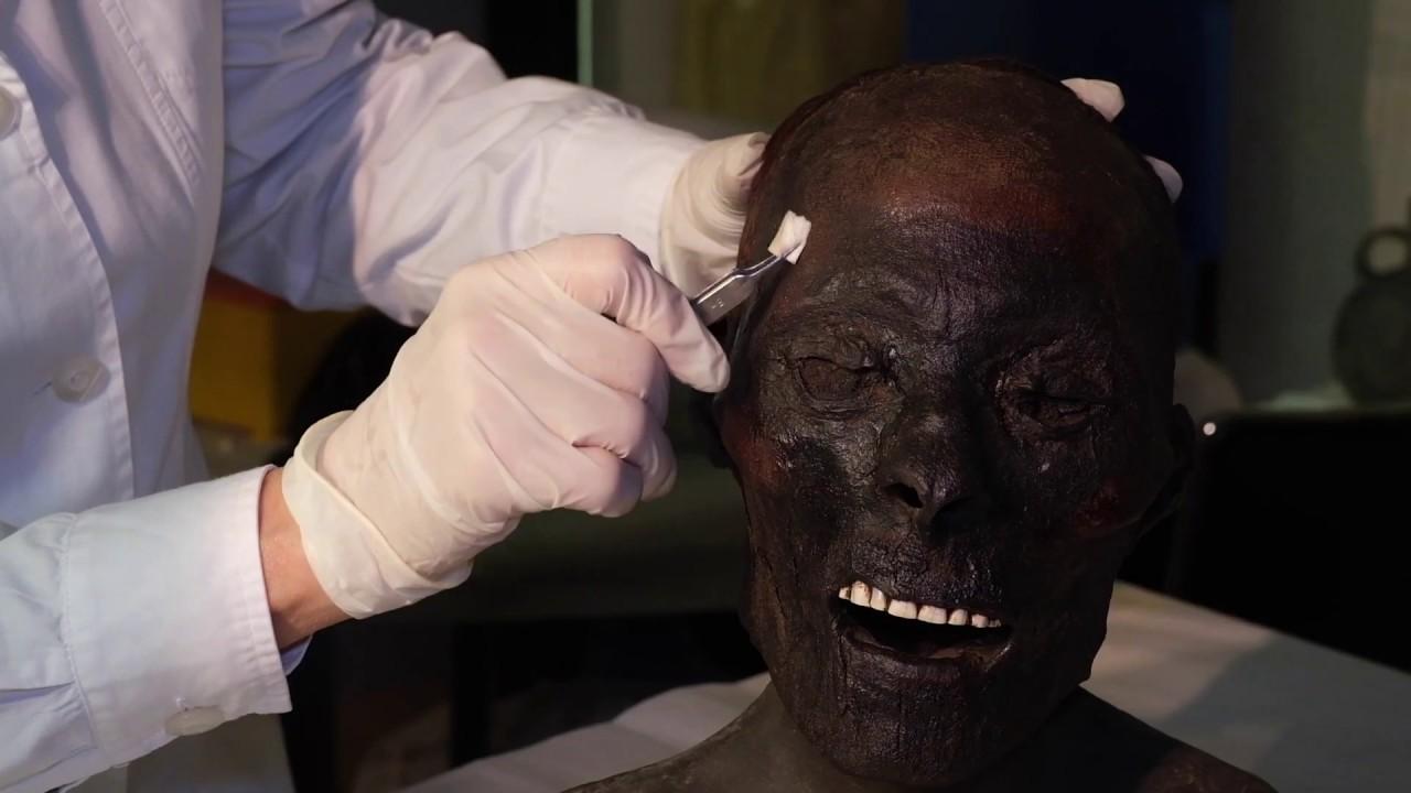 Storie d'Egitto Restauro delle Mummie
