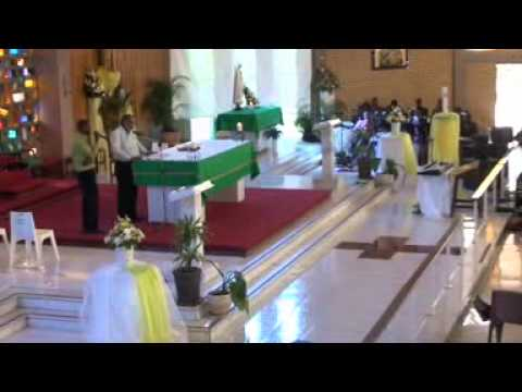 AFRICA BOTSWANA FR MATHEW NAICKOMPARAMBIL LAME WALKS IN THE NAME OF JESUS