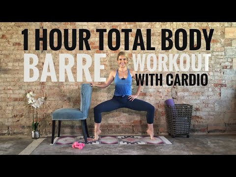 one-hour-total-body-barre-workout-with-cardio---burn-upto-500-calories!-minimal-equipment-needed