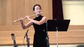 When I Survey the Wondrous Cross (Sylvia Kim, flute/ Peggy Prather, piano)